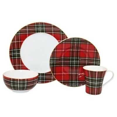 NEW 222 Fifth Wexford 16-Piece Dinnerware Set - Red  sc 1 st  PicClick & NEW 222 FIFTH Wexford 16-Piece Dinnerware Set - Red - $57.59   PicClick