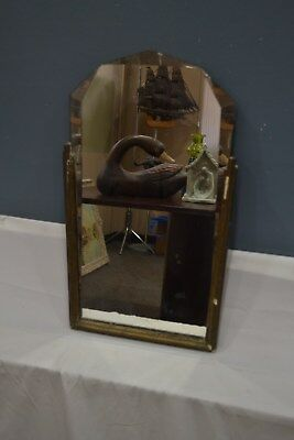 """""""used"""" Art Deco Mirror W/ Beveled Glass - Pick Up Only"""