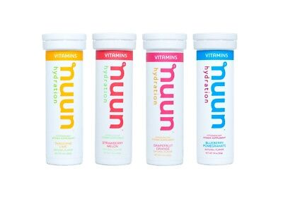 Nuun Vitamins Hydration Tablets Mixed 4 pack (Variation 2)