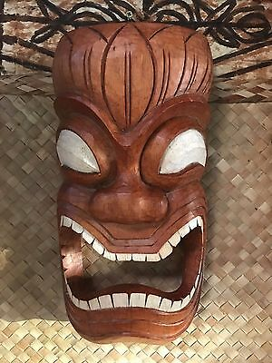New Ku Towell Holder Tiki Mask Smokin' Tikis Hawaii fx 11317