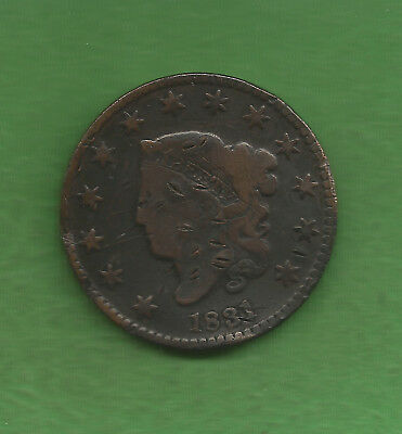 1831 Matron Head, Large Cent - 186 Years Old!!!
