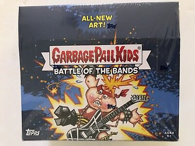 2017 Topps Garbage Pail Kids Battle Of The Bands Retail Box