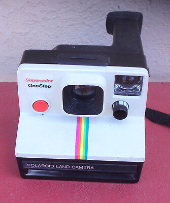 Retro Polaroid Supercolor One Step Land Camera