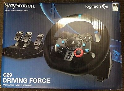 Logitech Driving Force G29 (941000110) Wheel And Pedals Set