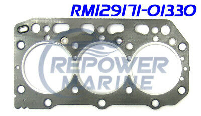 Cylinder Head Gasket for Yanmar 4JH2 Series Replaces 129573-01351
