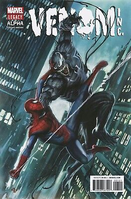 Amazing Spider-Man/venom Venom Inc Alpha Cover B Trade Dress