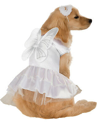 White Guardian Angel Pet Dog Cat Christmas Halloween Costume