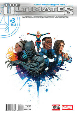 ULTIMATES #3 (MARVEL 2016 1st Print) COMIC