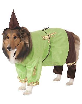 The Wizard Of Oz Scarecrow Pet Dog Cat Halloween Costume