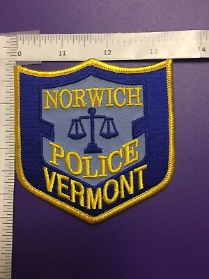Norwich Vermont Police  Shoulder Patch