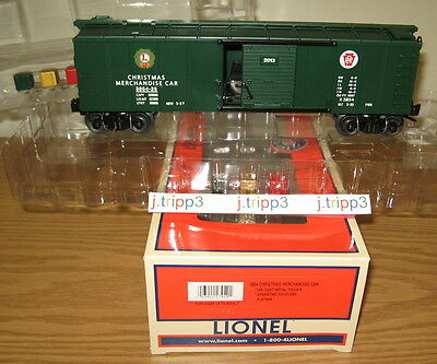 Lionel 6-27949 Pennsylvania Prr Christmas Merchandise Car 3854-25 O Gauge Train