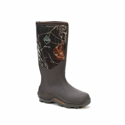 Muck Boots Company Men's/Women's WOODY MAX, MOSSY OAK BREAK-UP, CAMO, Neoprene