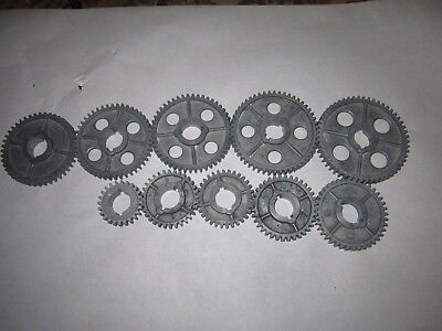 "10 Atlas Craftsman 10"" 12"" Metal Lathe Change Gear Set 54-24 Teeth"