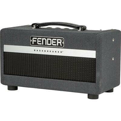 Fender Bassbreaker 007 Amplifier Head 120V, Gray Tweed #2261000000