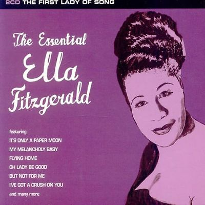 ELLA  FITZGERALD (NEW SEALED 2 x CD) THE ESSENTIAL / GREATEST HITS VERY BEST OF