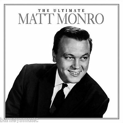 Matt Monro (New Sealed Cd) The Ultimate Greatest Hits Collection / Very Best Of