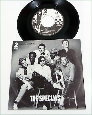"""THE SPECIALS german 1980 2 TONE Ska Revival 7"""" PS 45 """"Do Nothing"""""""