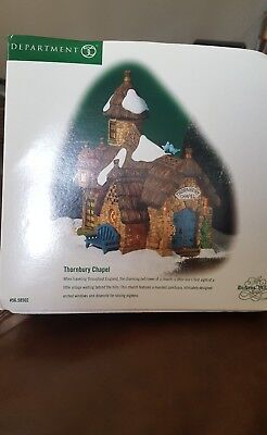 """Thornbury Chapel"" by Dept 56 Dickens Village. Excellent Condition"