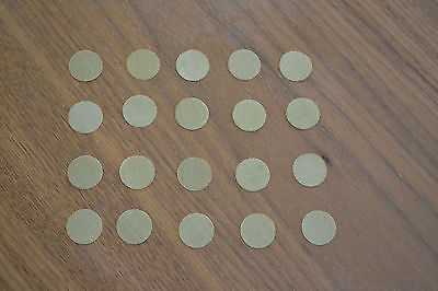 """~ 7 CENTS EACH !!! 40 Pipe Screens Brass 1/2"""" ~ .50"""" ~  12.5mm ~ FREE SHIPPING ~"""