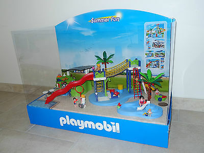 presentoir magasin PLAYMOBIL display summer fun decoration chambre enfant