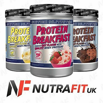 SCITEC NUTRITION PROTEIN BREAKFAST oat flakes whey meal replacement