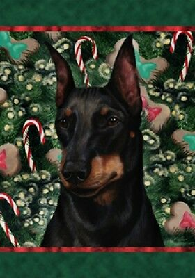 Large Indoor/Outdoor Holiday Flag - Manchester Terrier 14249