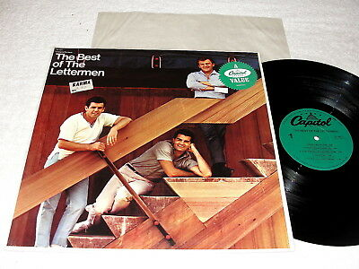 "The Lettermen ""The Best of"" 1960's Folk LP, Nice NM!, 1980's Capitol Pressing"