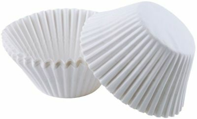 Wilton White Jumbo Size Cupcake Liners - 75 Count Baking Cups 2 ¼ Inch Diameter