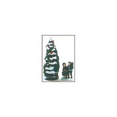 Dept 56 Dickens Snow Village  Holly & the Ivy 1997 Event Piece Set of 2 56100