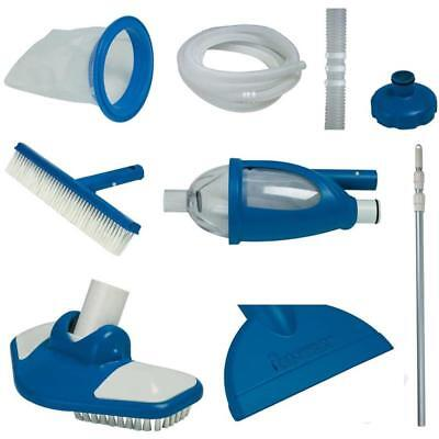 Intex Deluxe Cleaning Maintenance Swimming Pool Kit with Vacuum & Pole 28003E