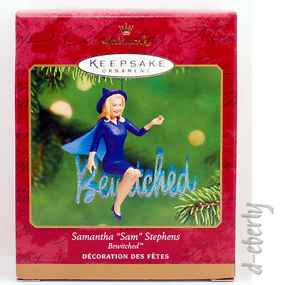 2001 BEWITCHED NEW NM/VSD Box Samantha Sam Stephens Hallmark TV Witch Ornament