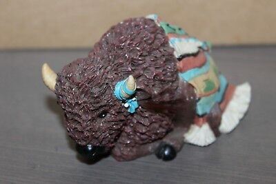 Enesco Friends of the Feather Bison Blessing Figurine