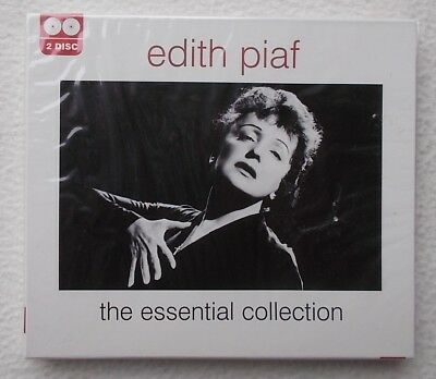 Edith Piaf : The Essential Collection ~ 2 x CD Album ~ Brand New & Sealed