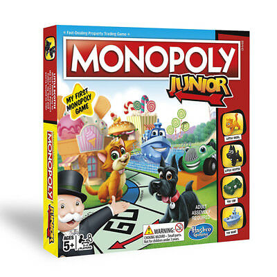 Hasbro Gaming Monopoly Junior Board Game NEW
