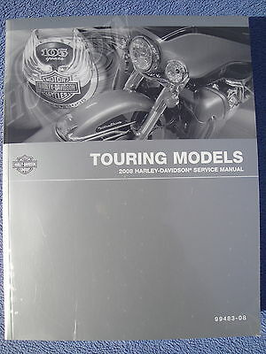 2008 Harley Davidson touring service manual ultra electra glide flhx road king