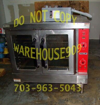 VULCAN Electric Restaurant Commercial Convection Full SIZE Oven Glass Doors