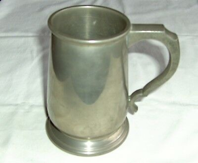 VINTAGE PEWTER TANKARD  good  quality  pint size by MADE IN ENGLAND