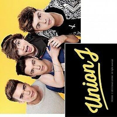 UNION J group yellow 2013 - ACRYLIC KEYCHAIN official merchandise X - FACTOR