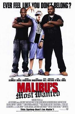 MALIBU'S MOST WANTED ORIGINAL 27x40 MOVIE POSTER (2003) KENNEDY & DIGGS
