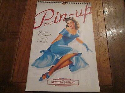 Calendrier 2003 Pin-Up New York Company