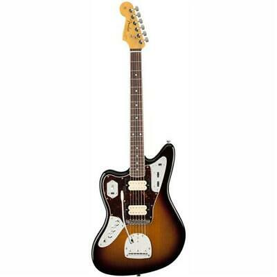 Fender Kurt Cobain Jaguar Left-Handed Guitar, 3-Color Sunburst #0143021700