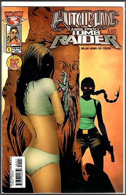 Image Top Cow WITCHBLADE TOMB RAIDER #1 DYNAMIC FORCES VARIANT