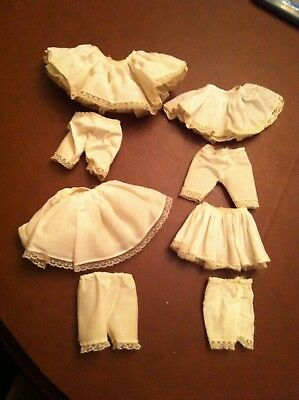 """Original lot of Slips and bloomers for your 8"""" Madame Alexander dolls"""