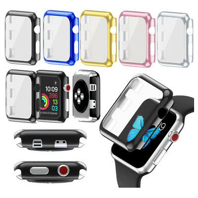 Full Protect Case+Screen Protector Cover for Apple iWatch Watch Series 3 38/42mm