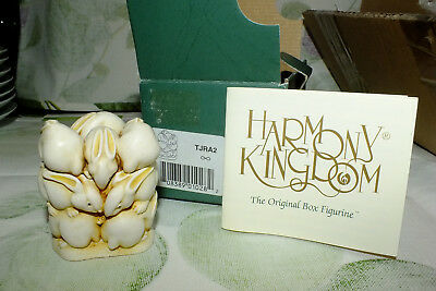 HARMONY KINGDOM England AT THE HOP TJRA2 1995 collectible FIGURINE BOX