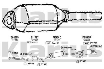 Catalytic Converter Cat FRONT for MERCEDES W202 2.5 CHOICE2//2 95-00 C250 TD