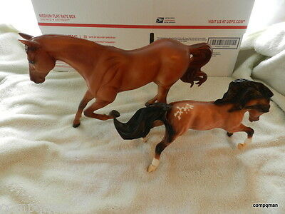 Breyer Reeves Model Horse Animal Figure Collectible Get Two