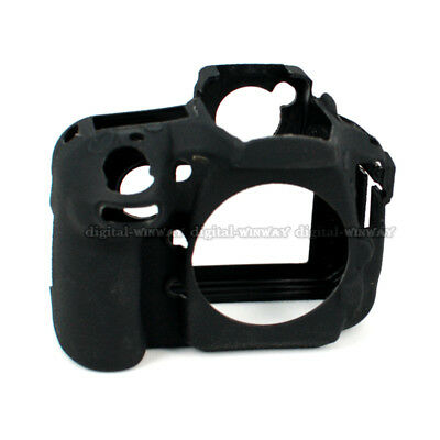 Soft Silicone Protective Skin Camera Cover Case F Nikon D800 D810 SLR Camera Bag