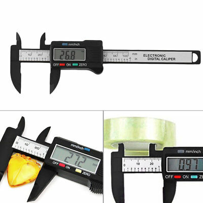 100mm LCD Electronic Digital Vernier Caliper Gauge Measure Micrometer New AU&@