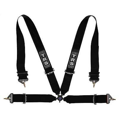 "TRS Motorsport Magnum FIA Approved 4 Point Harness 3"" Straps In Black"